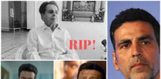 B-town celebs Reacted Dilip Kumar Death