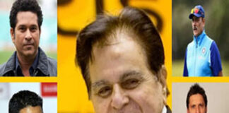 Dilip Kumar grief by IND-PAK cricketers