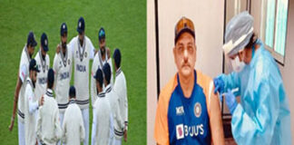 IND Squad Get 2nd Shot Covid 19 Vaccine