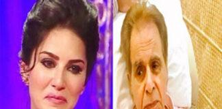 Sunny Leone Saddened on Dilip Kumar death
